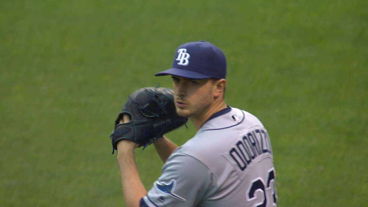 Odorizzi pushes himself in 120-pitch outing