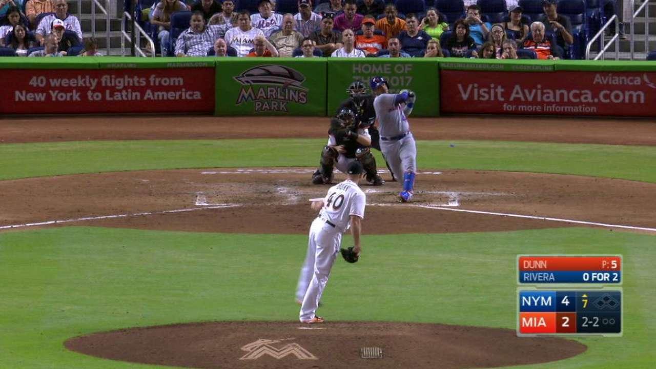 Dunn Ks Rivera in the 7th inning