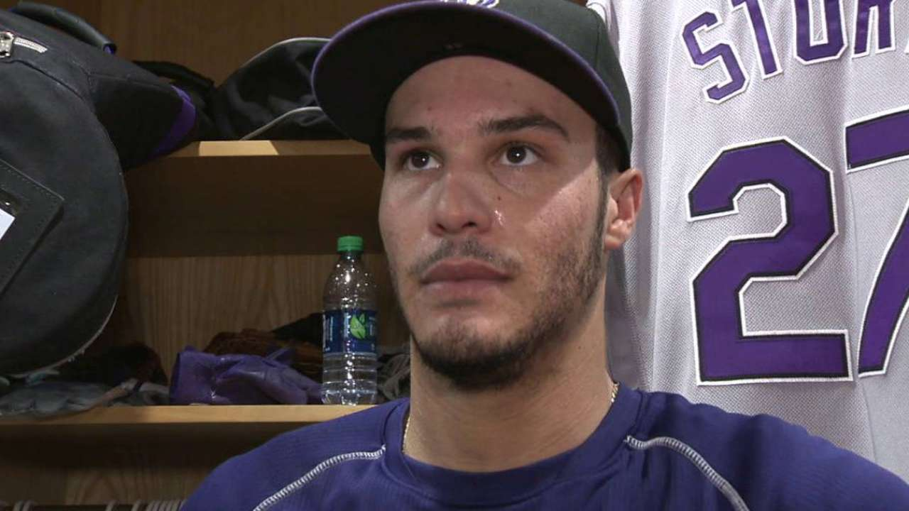 Arenado on team's bad start
