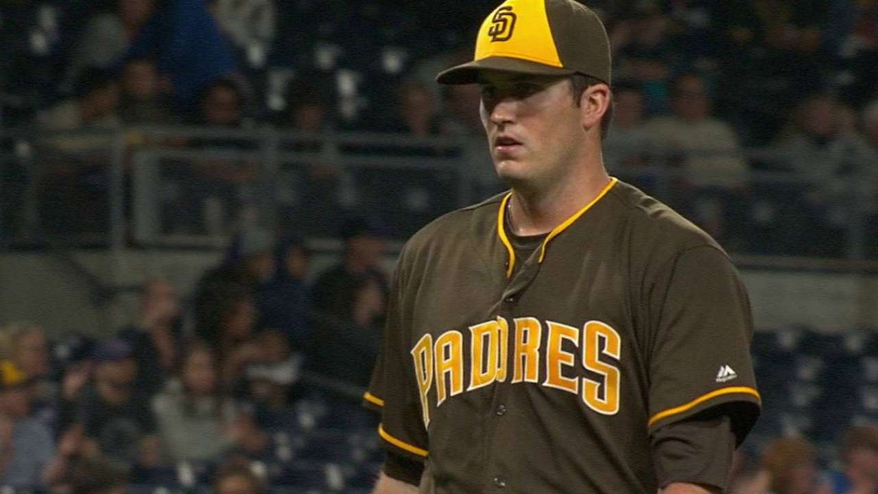 Pomeranz bounces back brilliantly for Padres