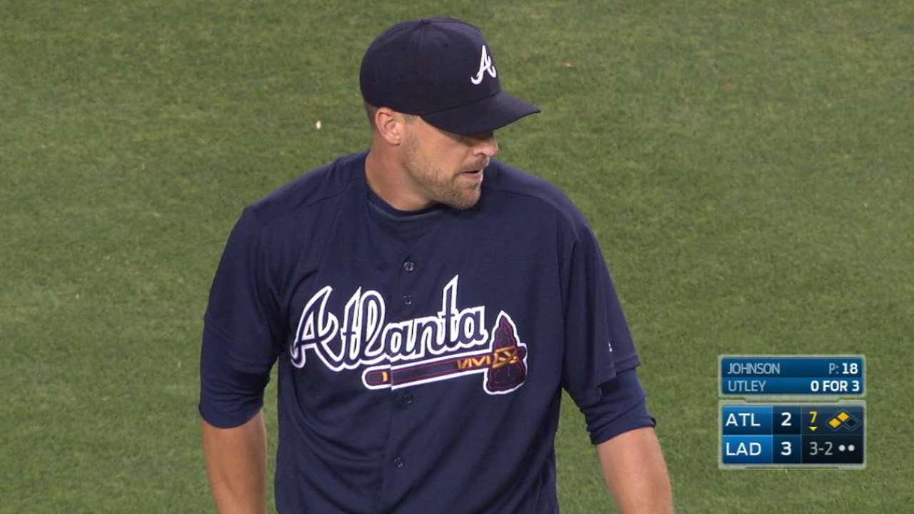 Braves activate Johnson from DL, option Weber
