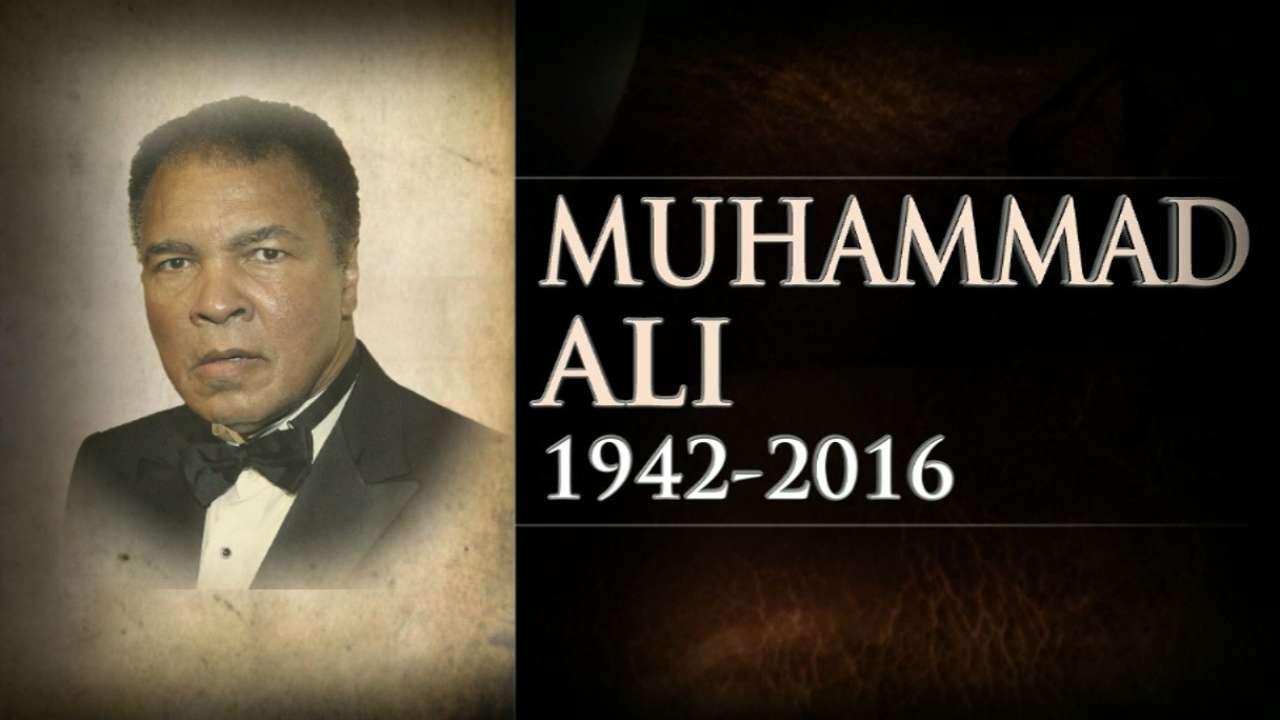 Dusty remembers Ali: 'Tremendous loss'