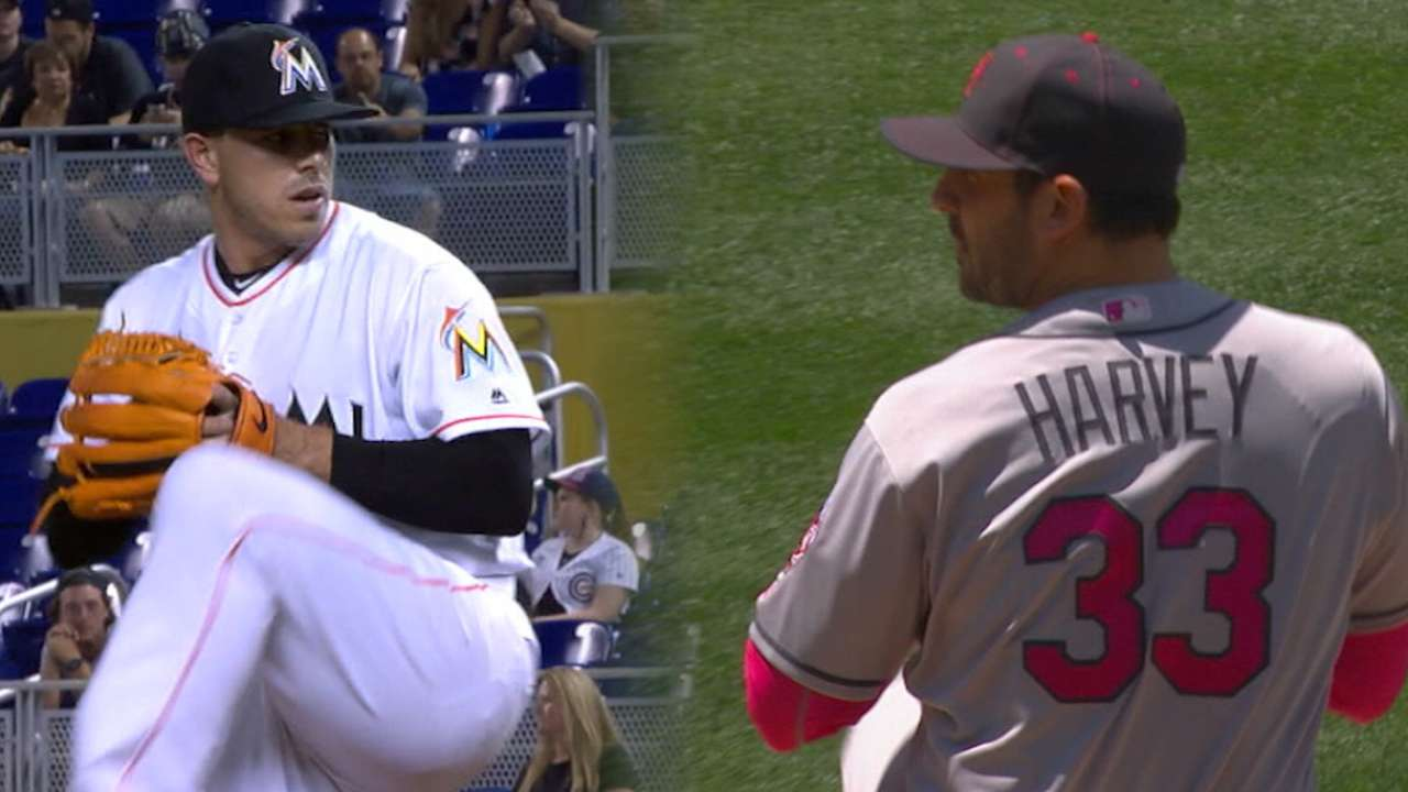Harvey, Jose set to clash on MLB.TV