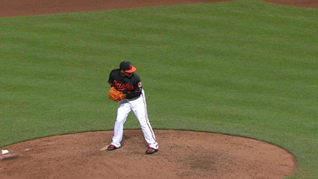 Orioles' scoreless relief
