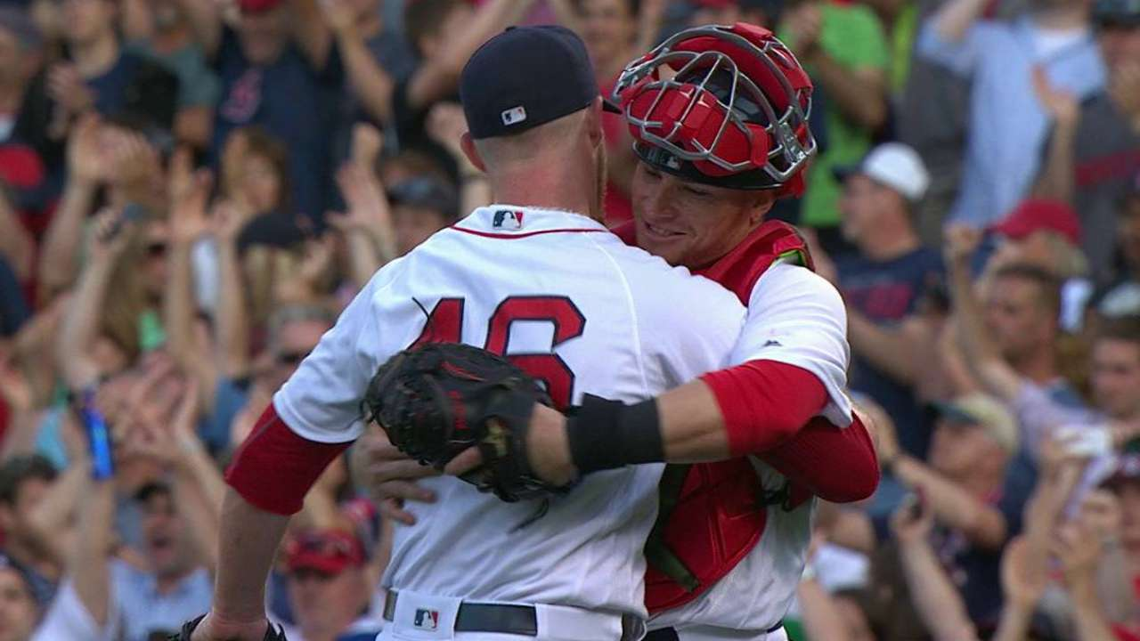 Red Sox's bullpen comes up big to seal win