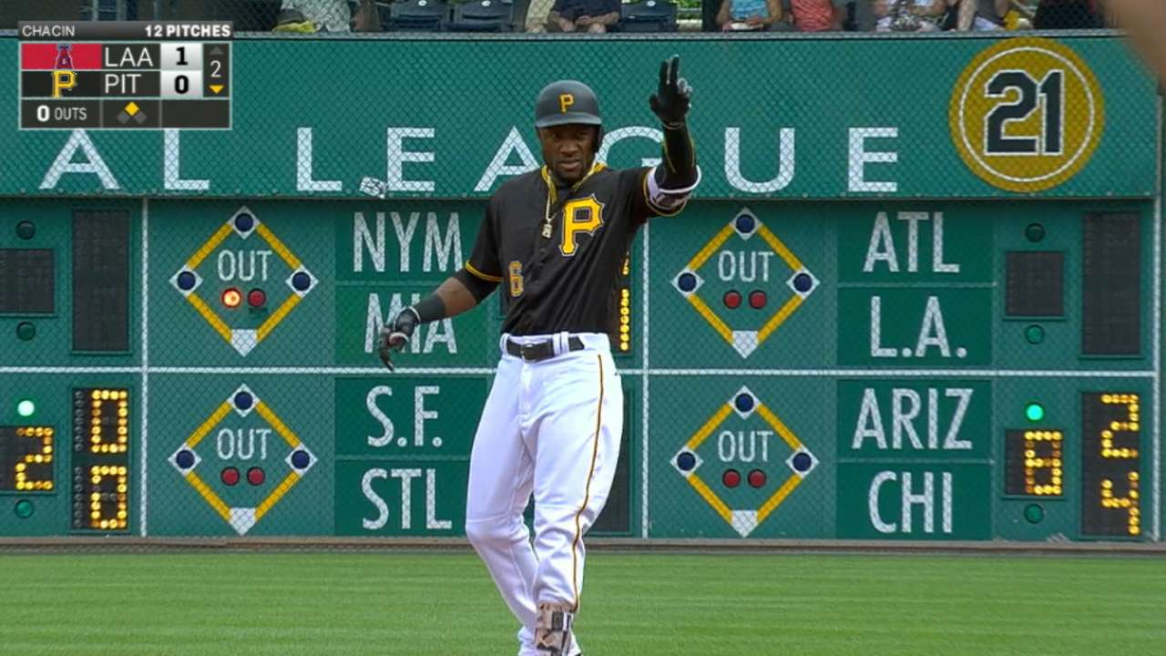 Marte's big day at the dish