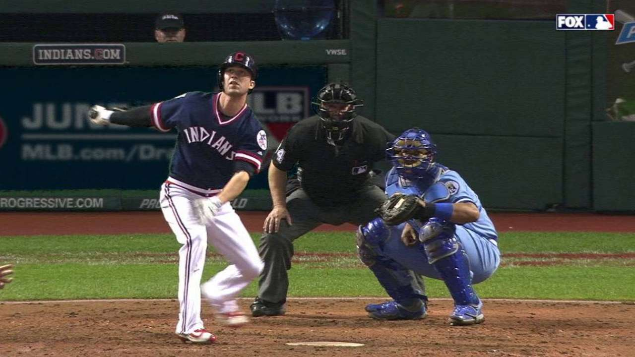 Naquin's second career home run
