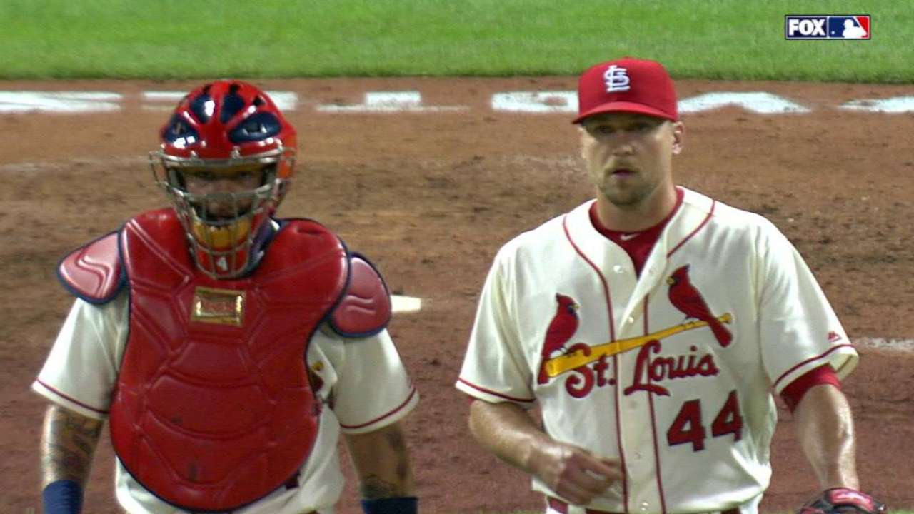 Matheny sticking with Rosenthal as closer