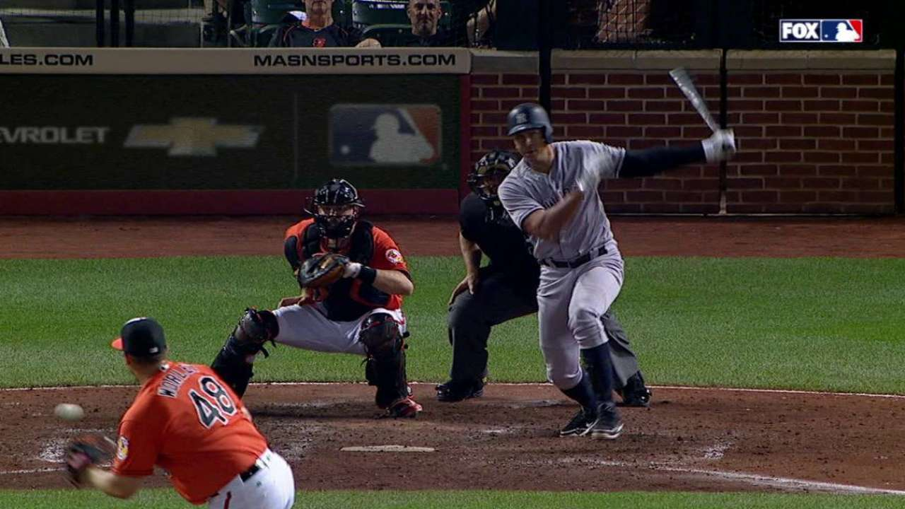 A-Rod's RBI single in the 9th