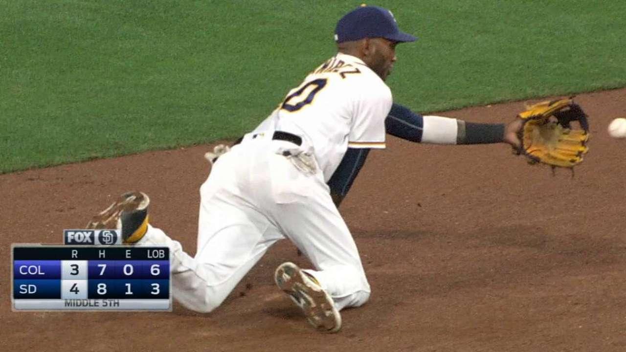 Padres turn incredible DP