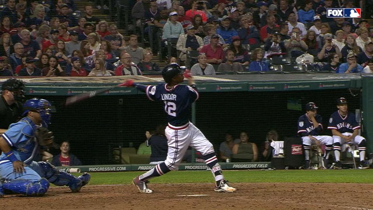 Home runs back Tomlin's gem vs. Royals