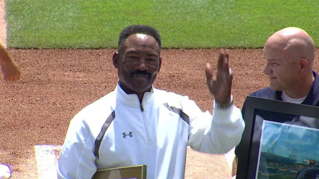 Honored by Tigers, Lemon reflects on 1984 season