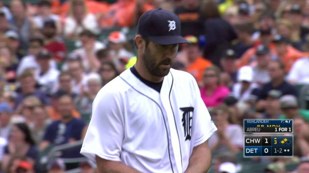 Verlander escapes trouble