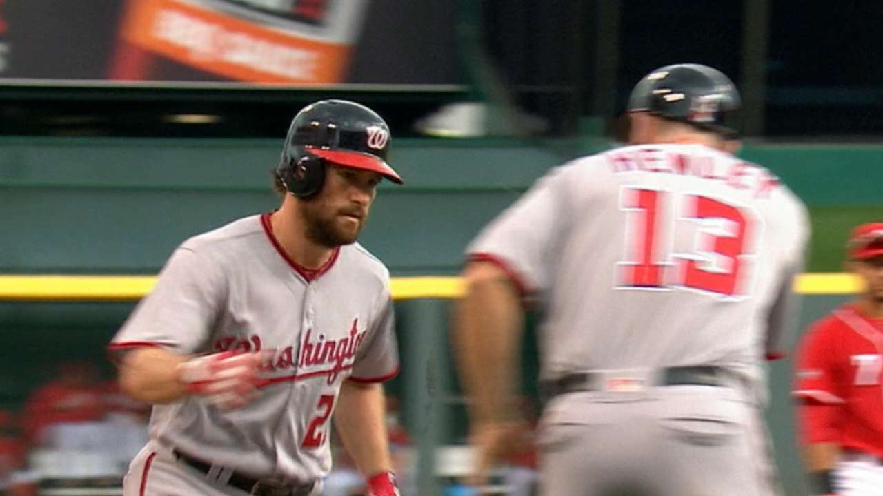 Nats outslug Reds for comeback win in finale