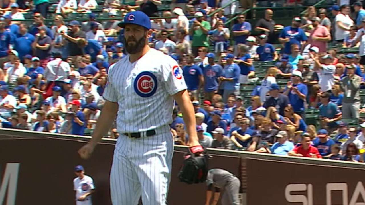 Arrieta strikes out 12