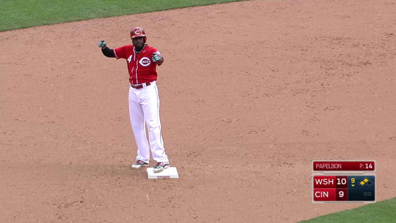 Phillips' double drives in Holt