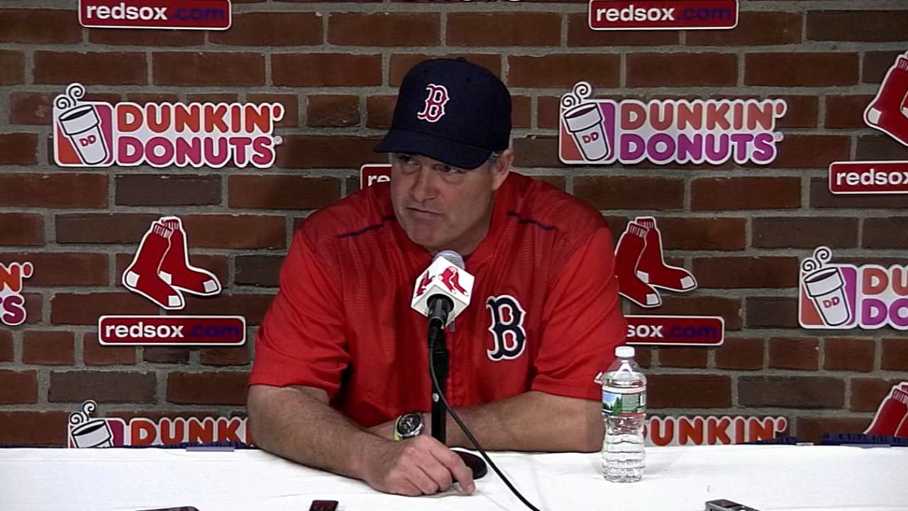 Farrell on loss to Blue Jays