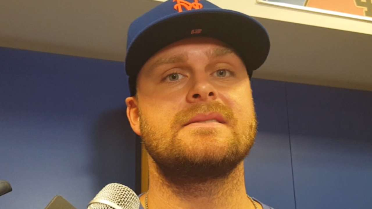 Duda on his back injury