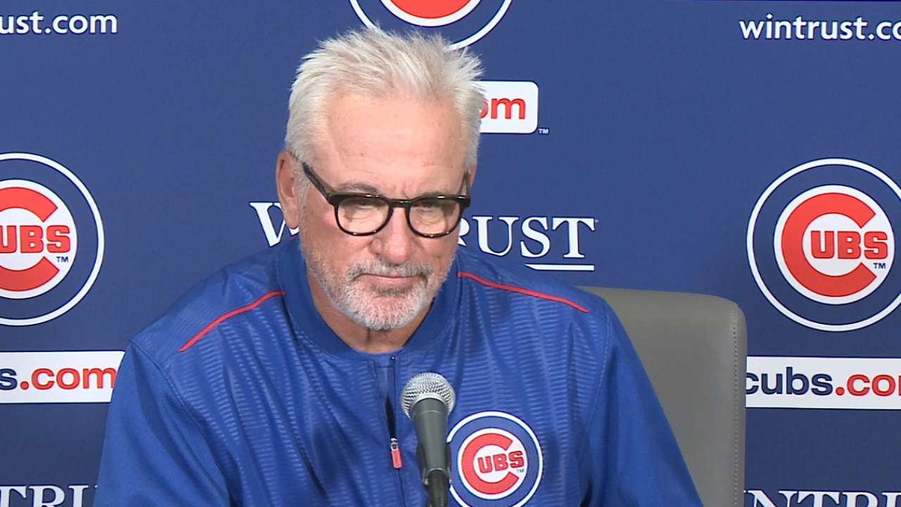 Maddon on Arrieta, 3-2 loss