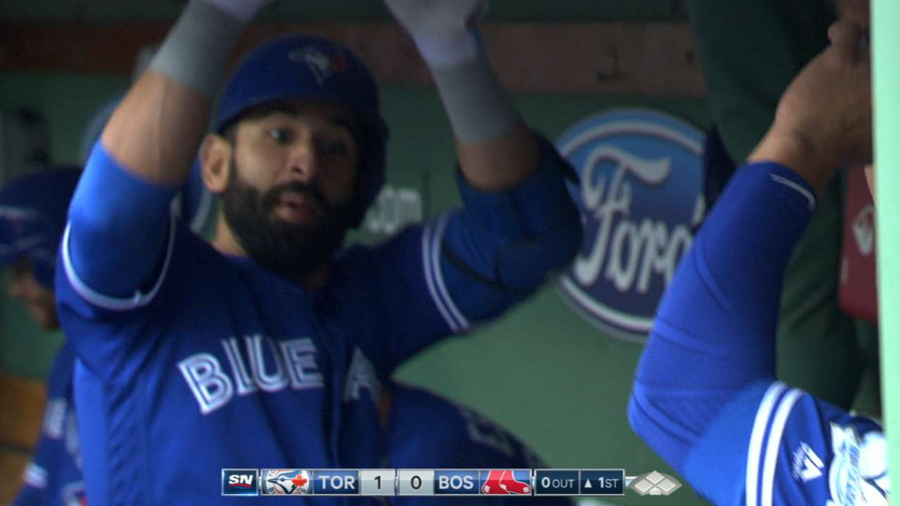Blue Jays' four-homer day