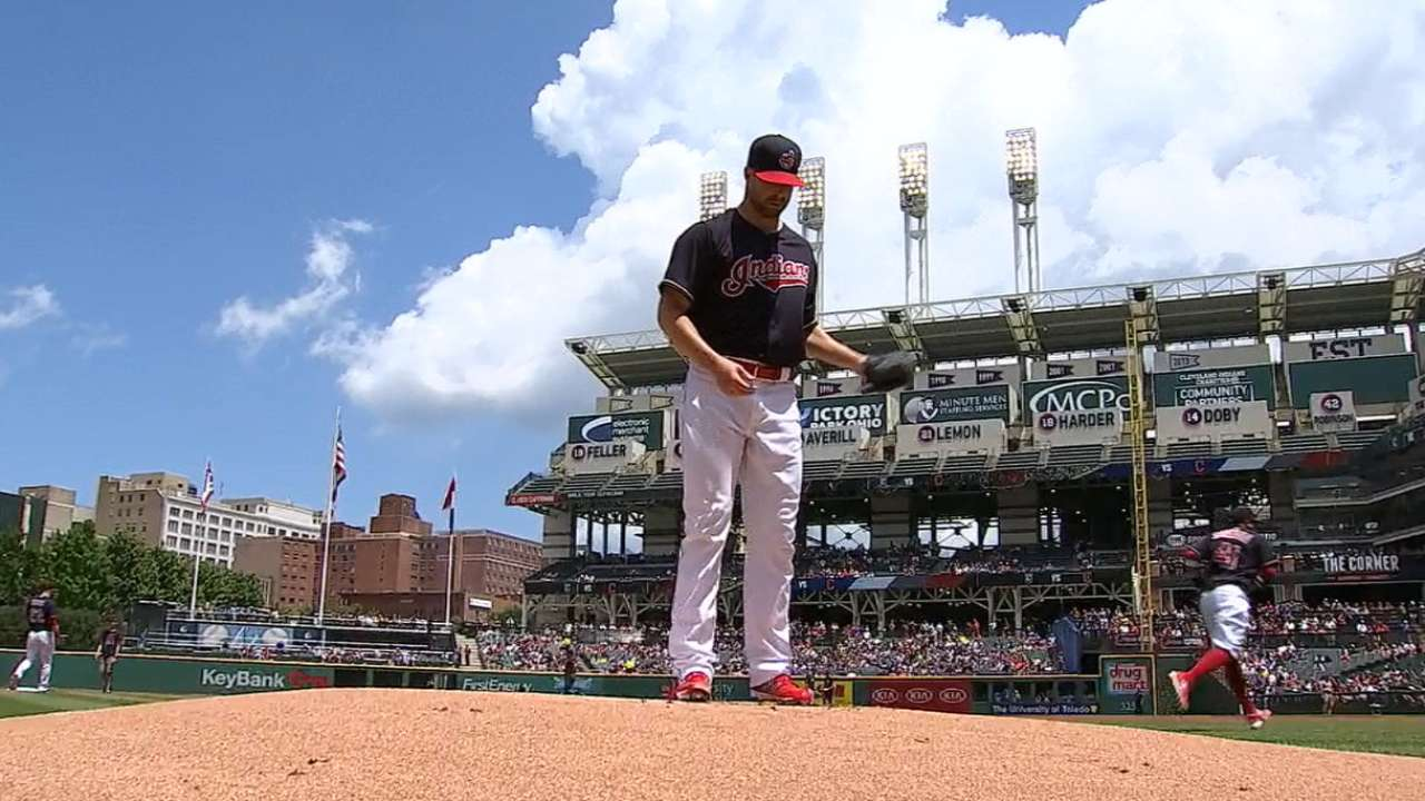 AL Central success boosting first-place Tribe