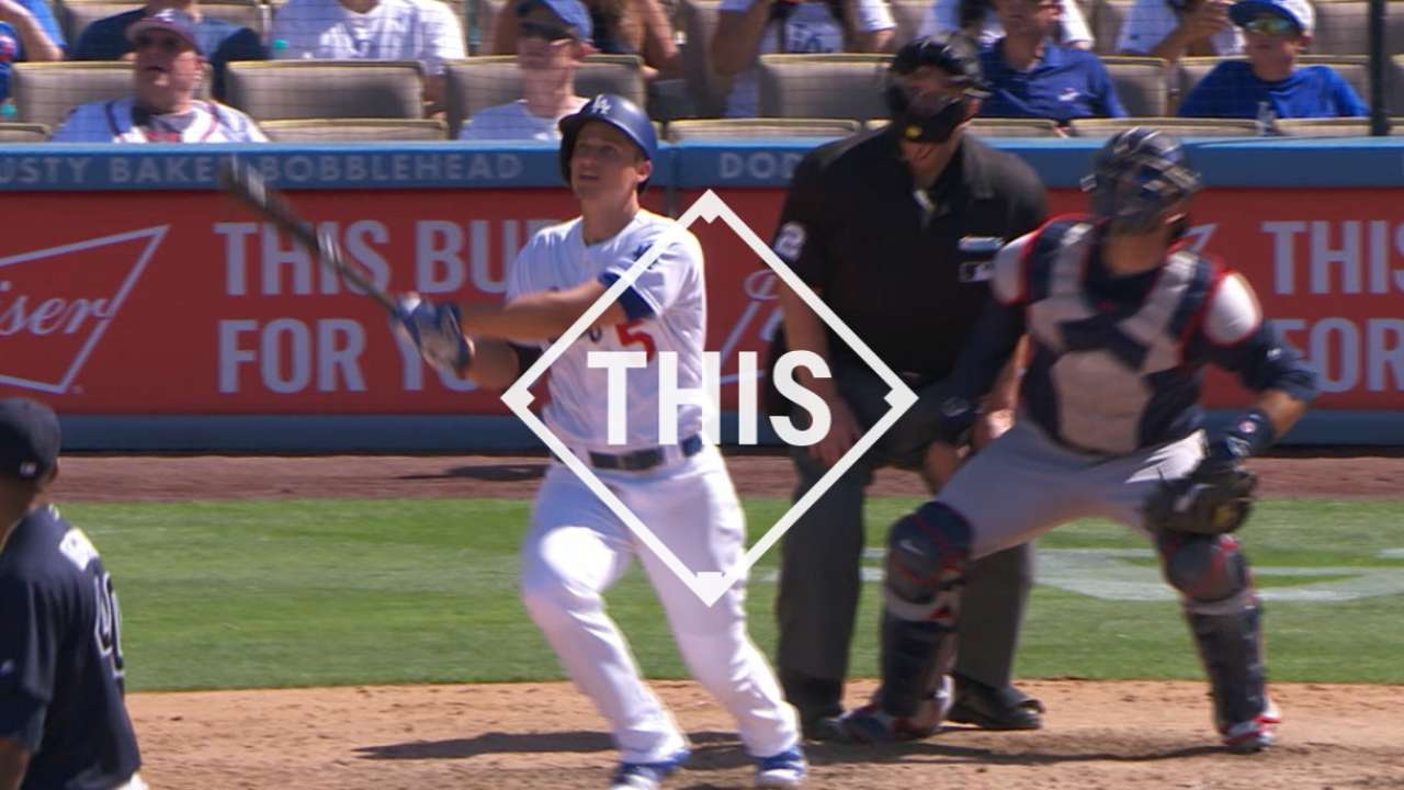 #THIS: Seager gets hot