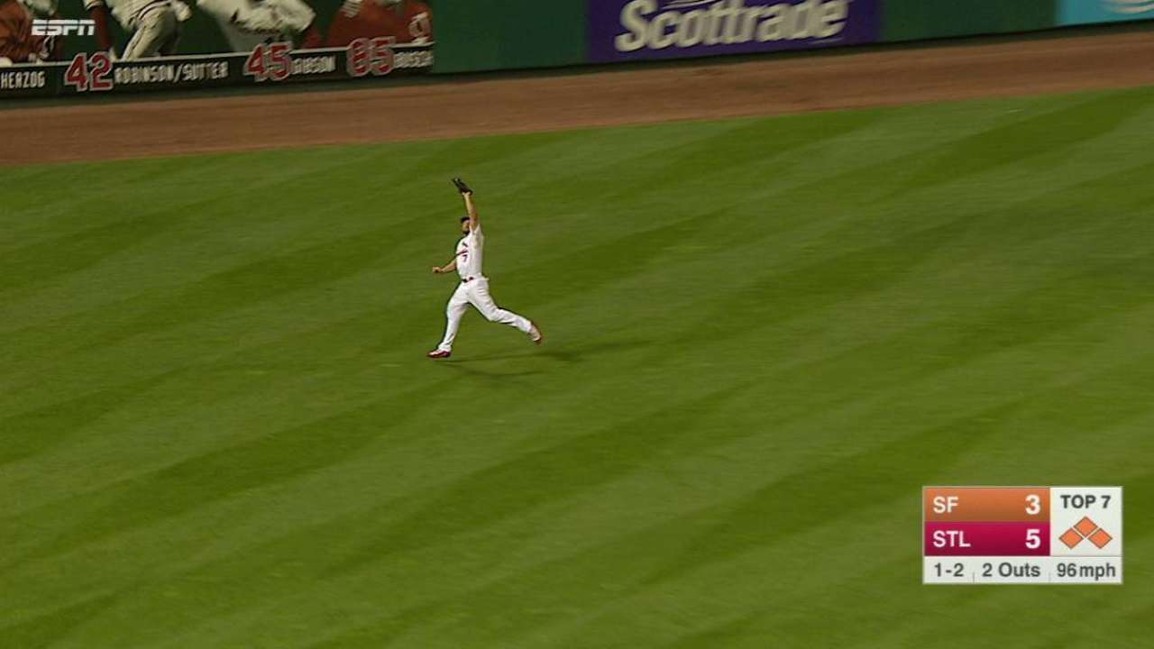 Siegrist escapes a jam