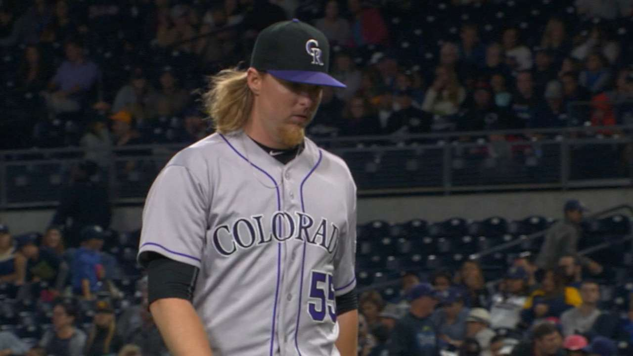 Gray strikes out career-high 12, lifts Rockies