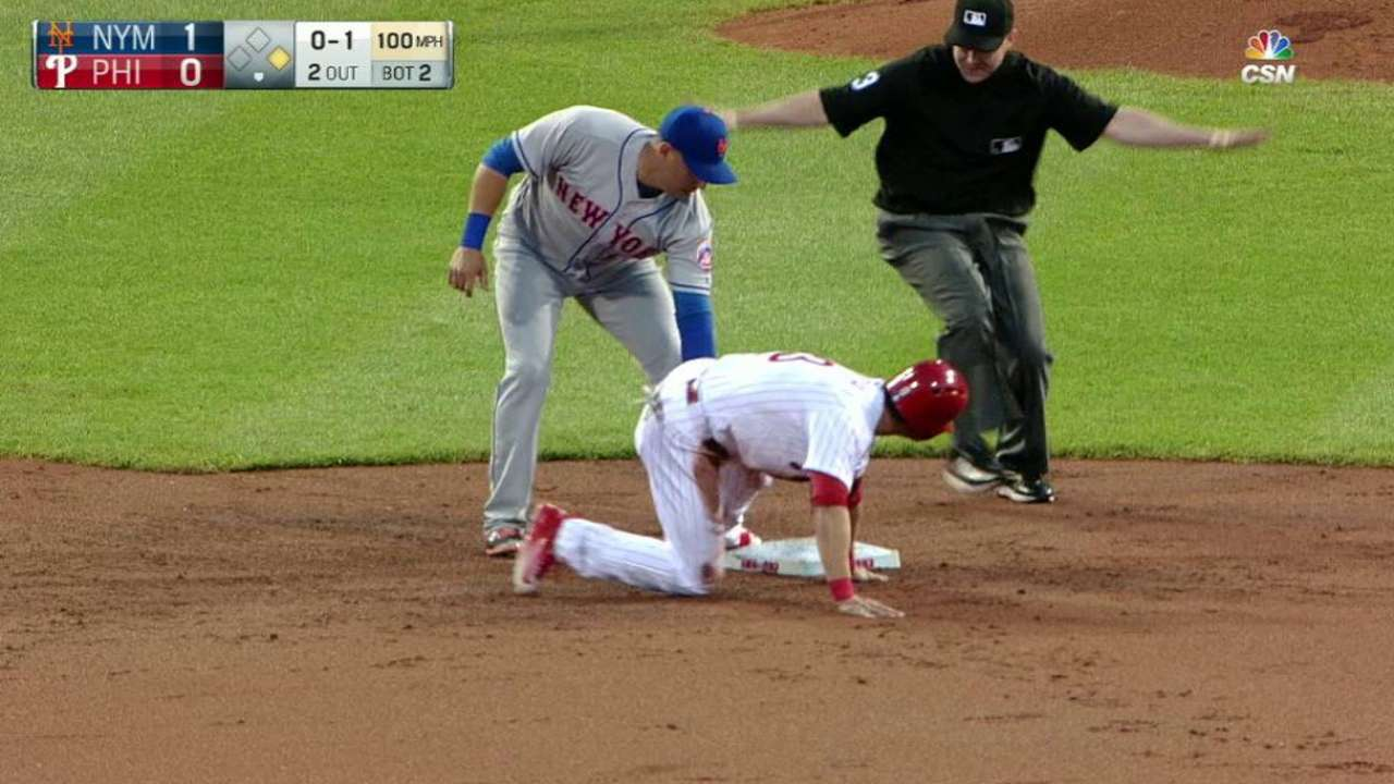 Phils turn to basepaths to manufacture runs