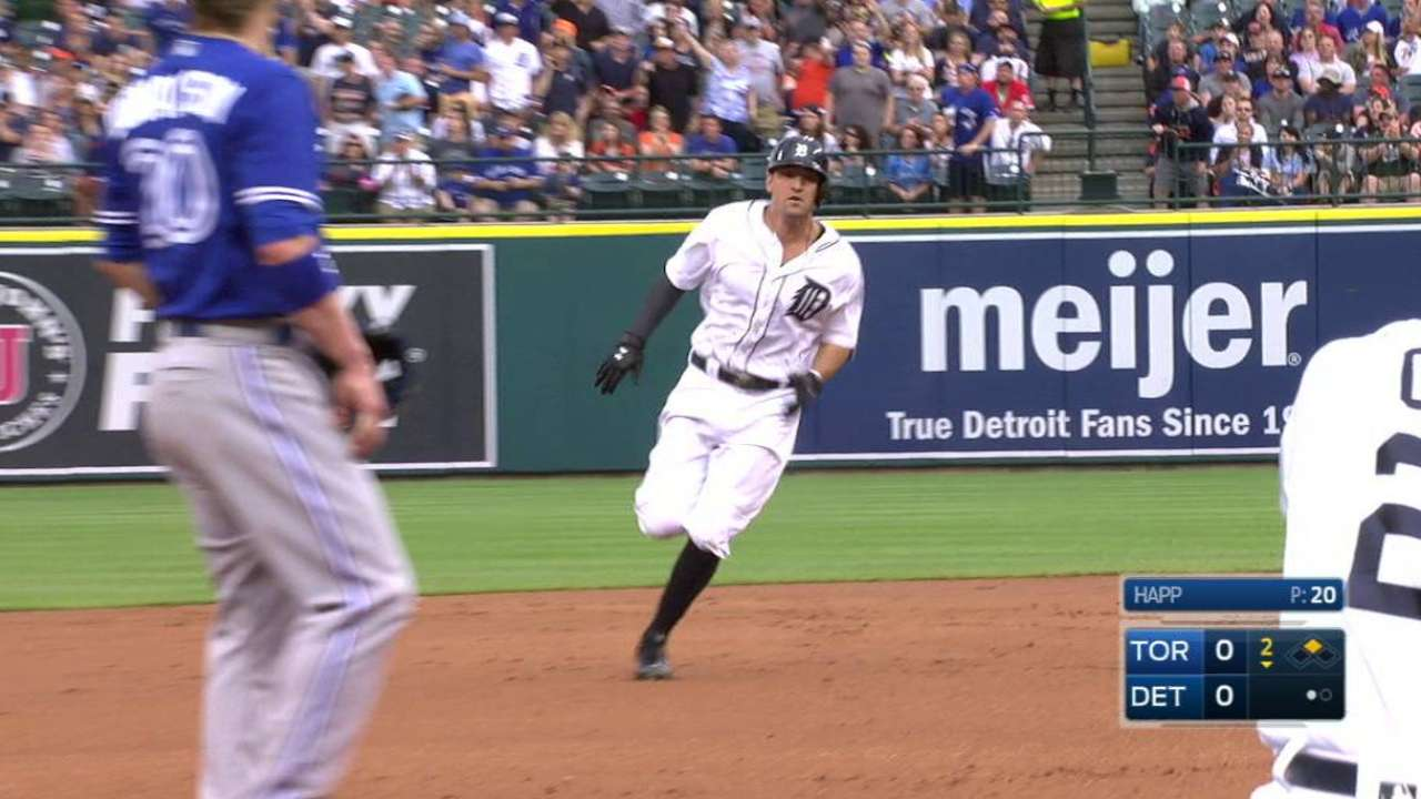 Castellanos' triple
