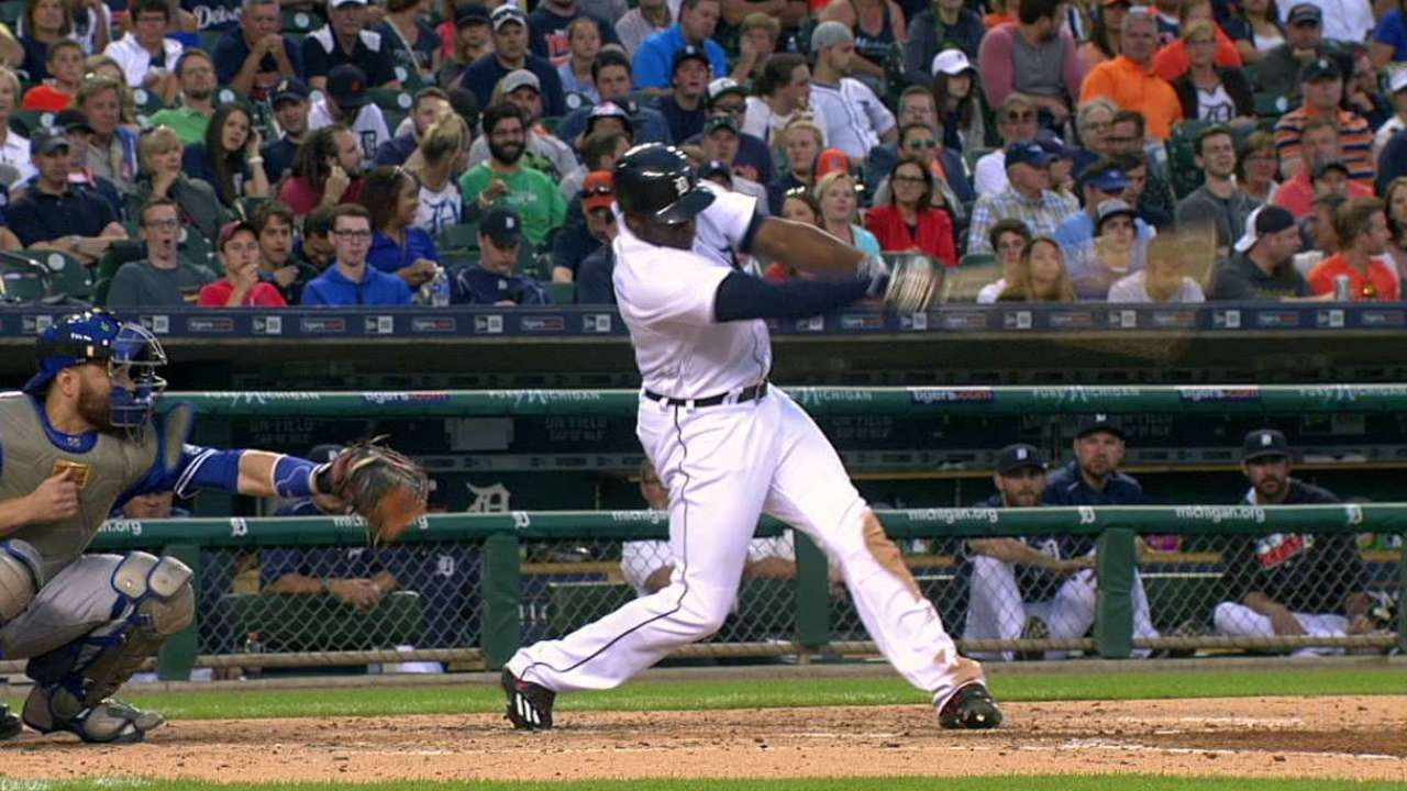Upton's two-run home run
