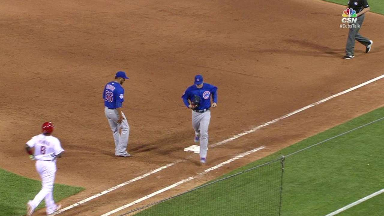 Maddon discusses luxury of bullpen roles