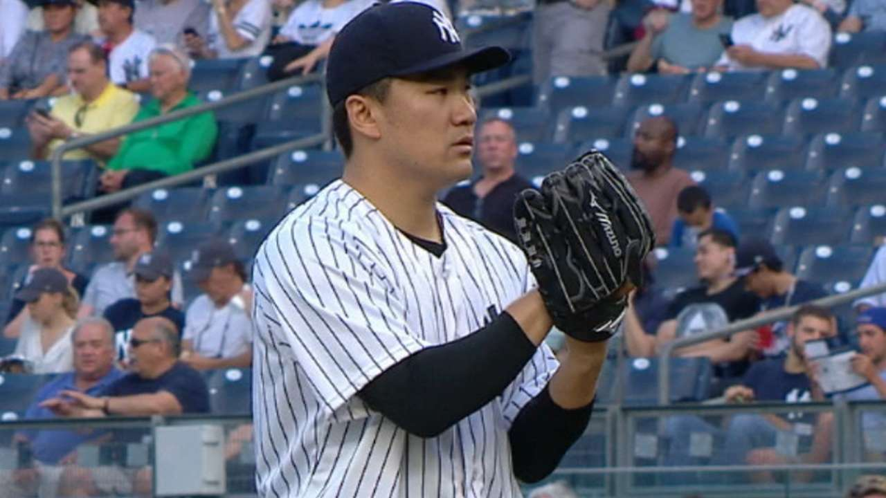 Tanaka's solid performance