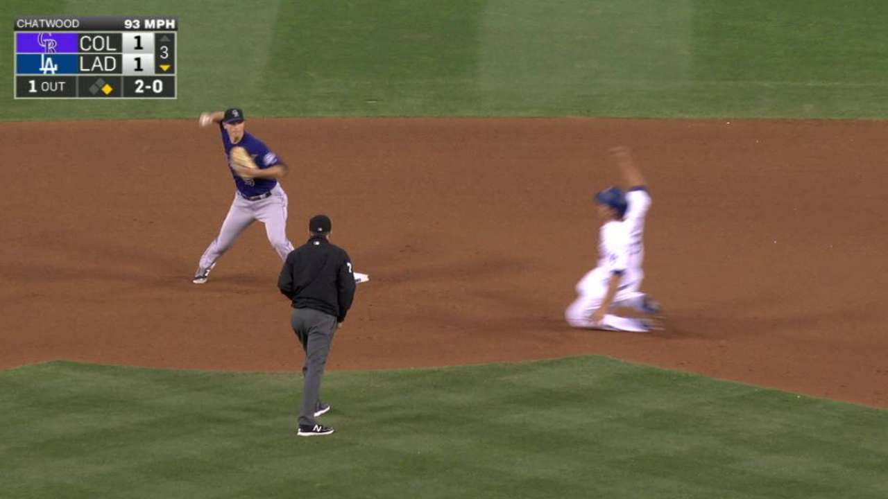 Chatwood creates double play