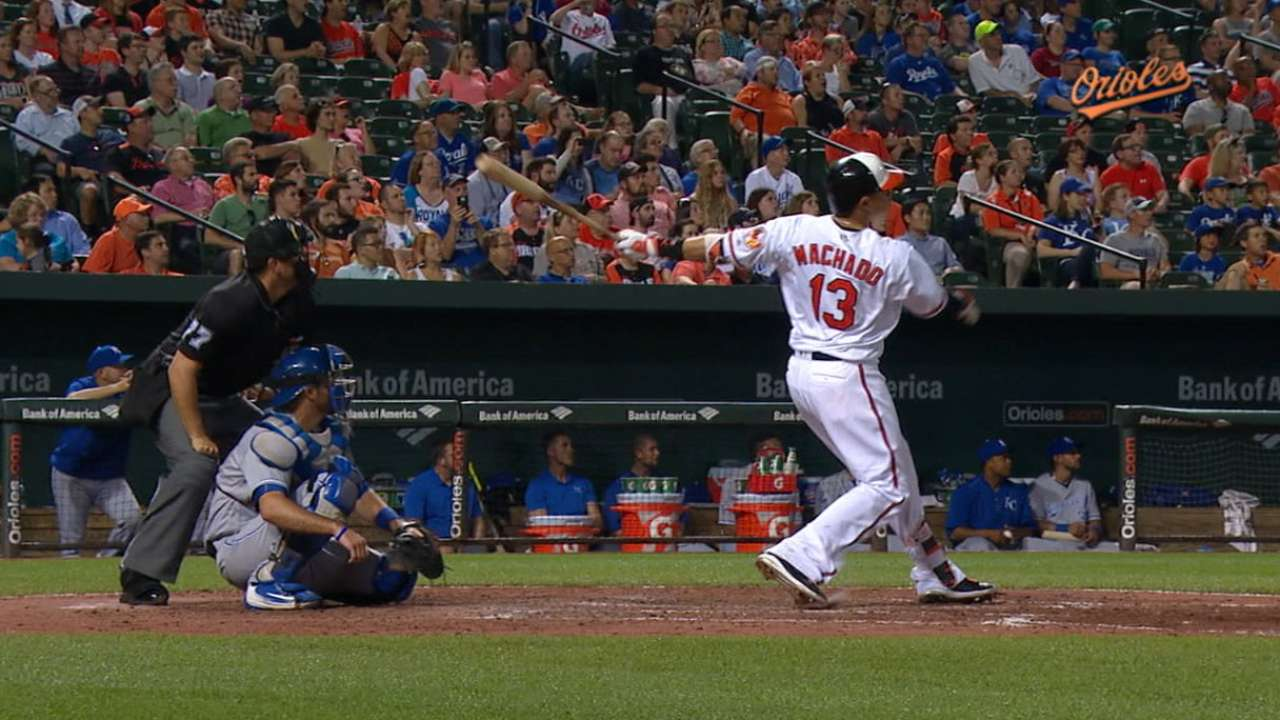 O's rally with 3 HRs as Wright pins down KC
