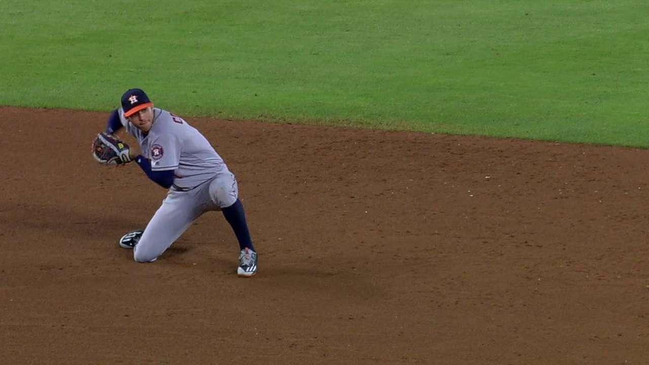 Correa's play at short