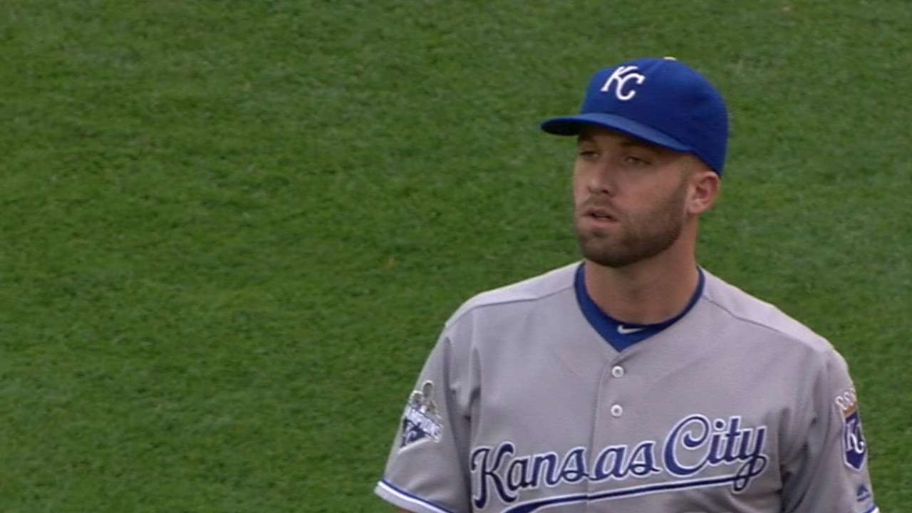 Royals' offense squanders Duffy's strong start