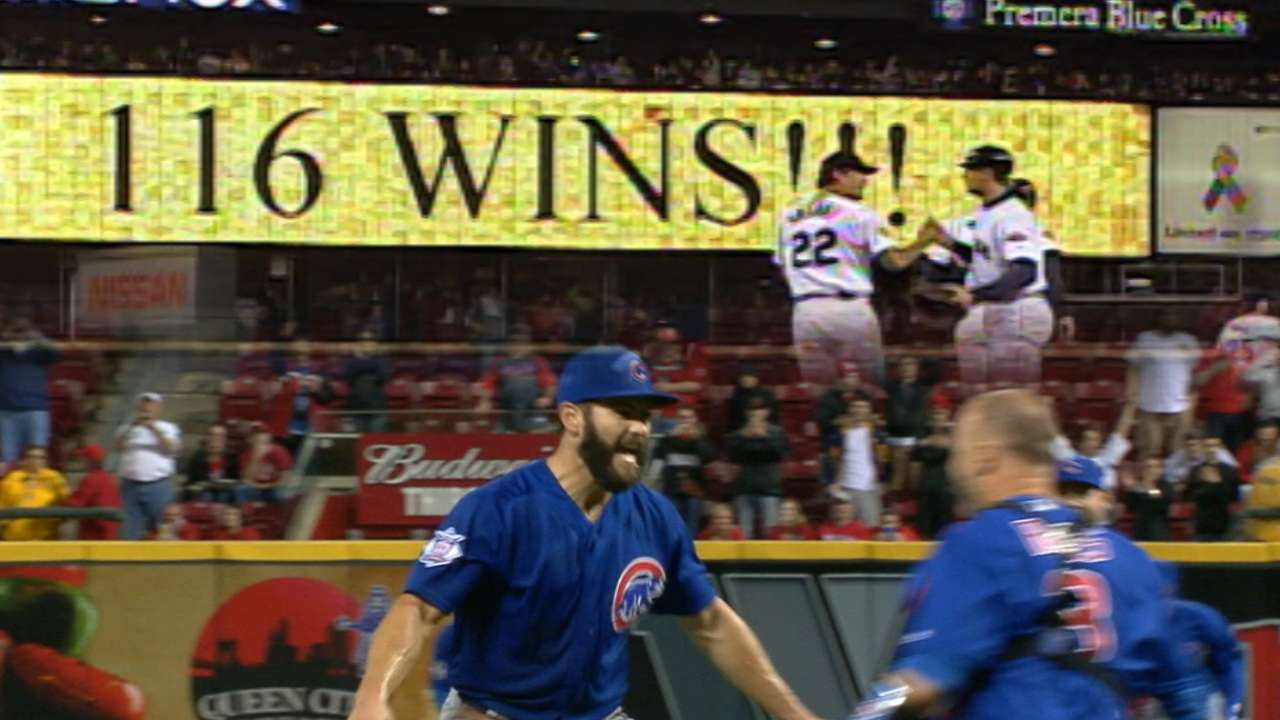 Bear maximum: Cubs on pace for 116 wins!
