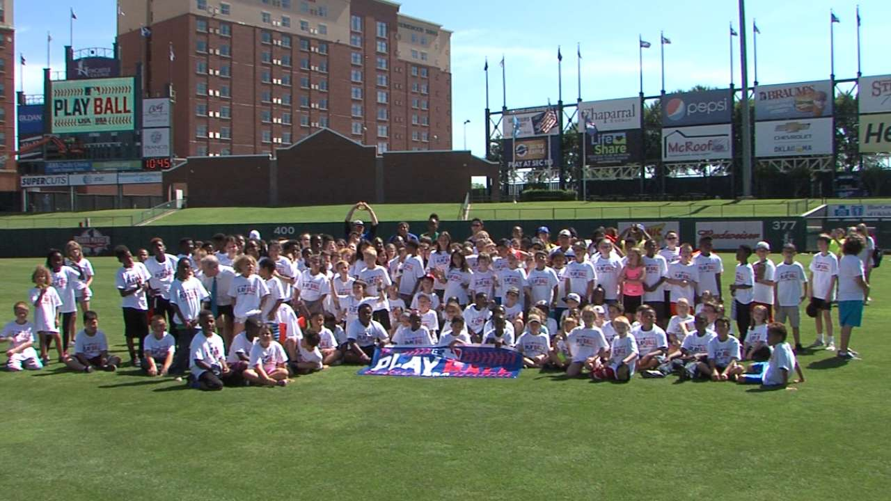 MLB, ASA/USA Softball host OKC Play Ball event