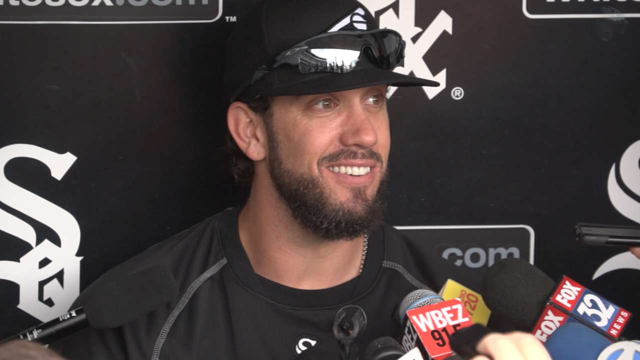 Shields joins White Sox, excited to be in Chicago