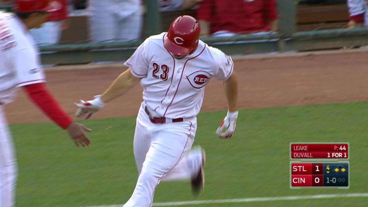 Duvall's three-run homer