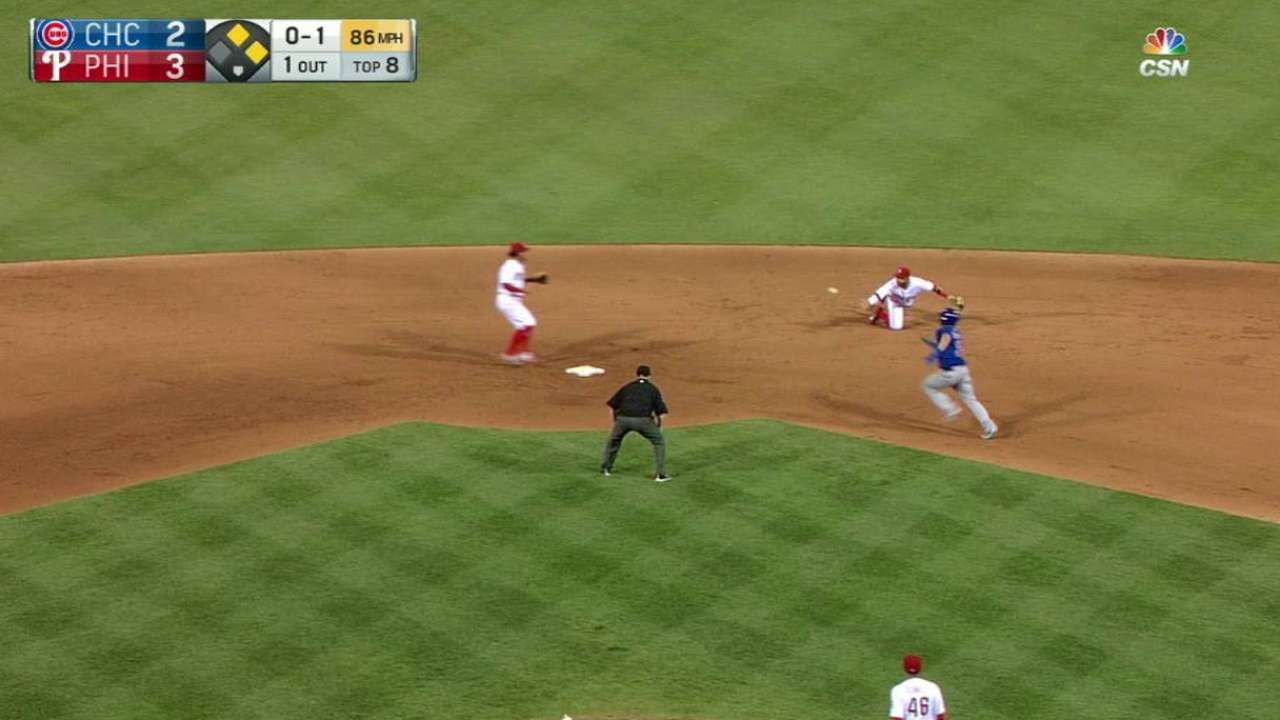 Blanco's 4-6-3 double play