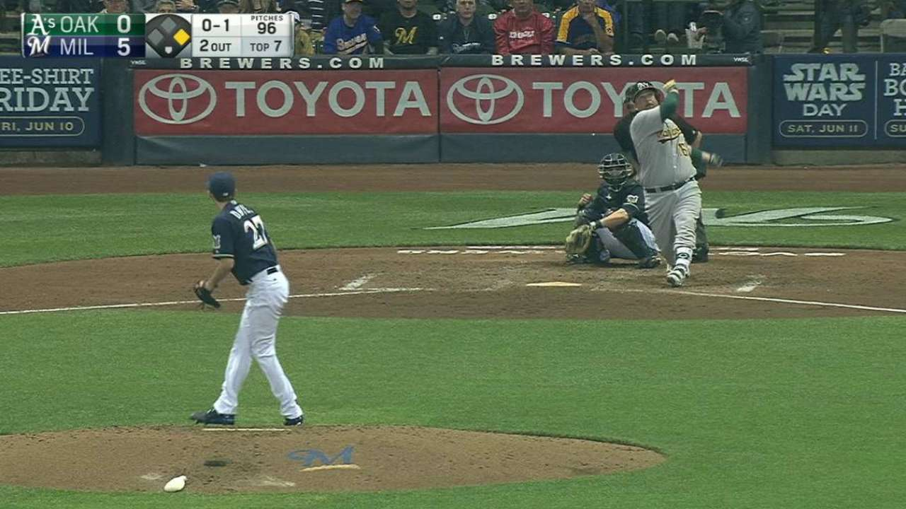 Butler's two-run homer