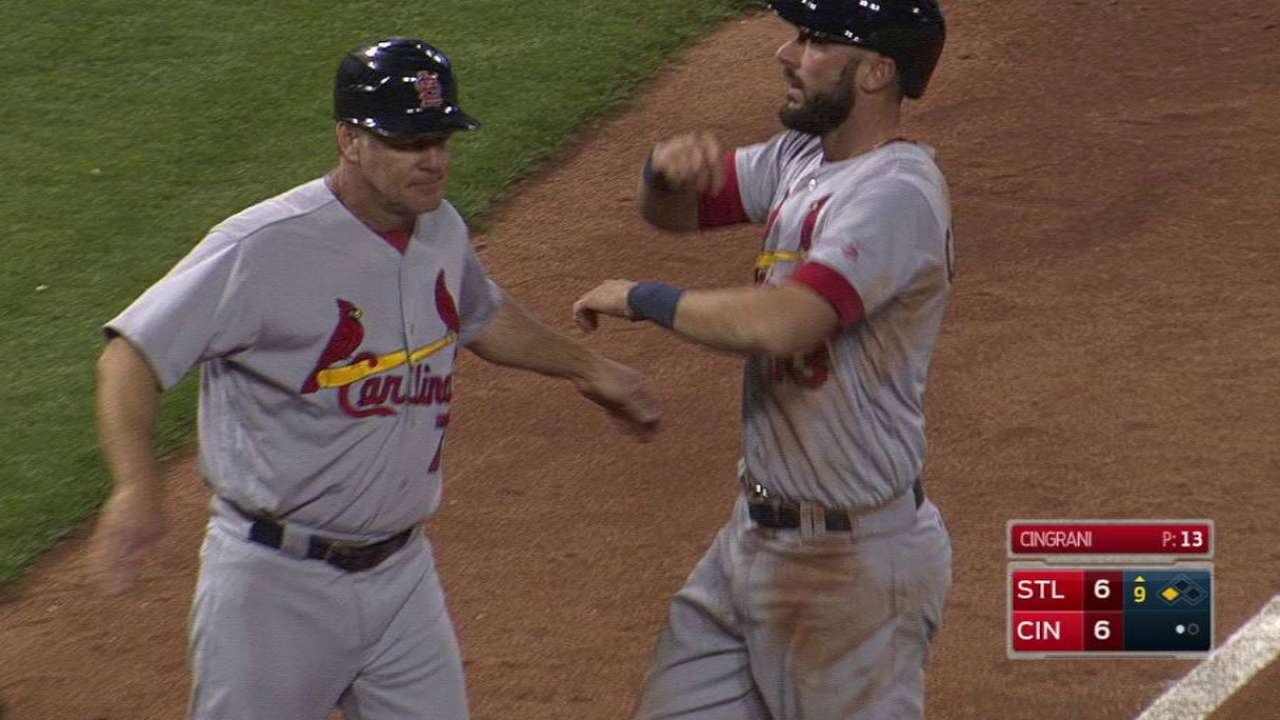 Carpenter's game-tying double