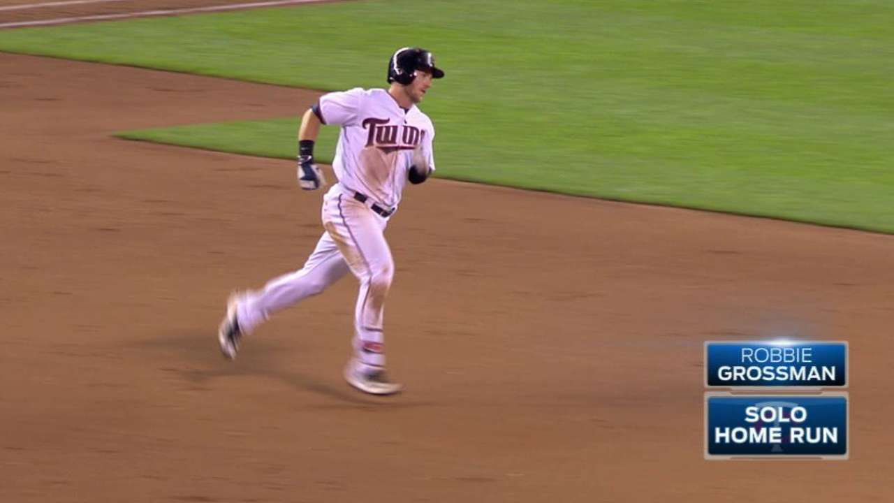 Twins picking up home run pace