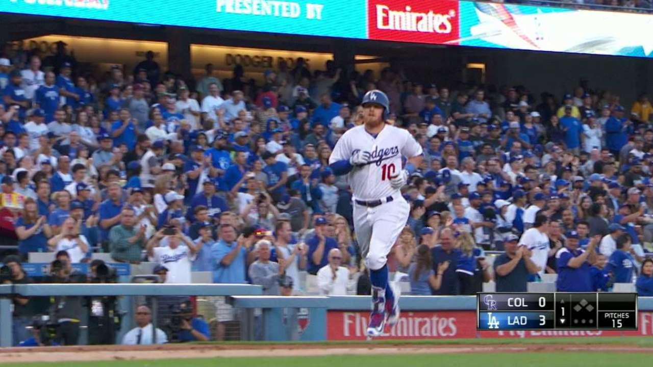 Turner's three-run homer