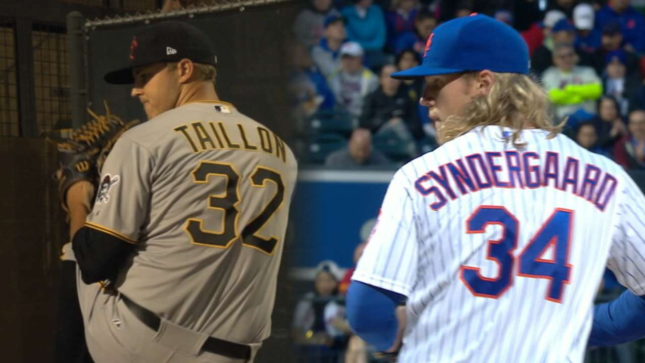 Taillon, Syndergaard set to duel