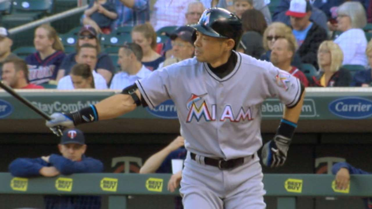 Ichiro collects more two hits