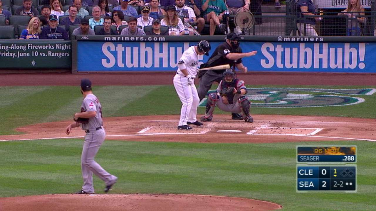 Anderson's first strikeout