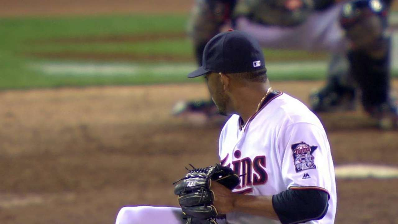Abad strikes out Stanton